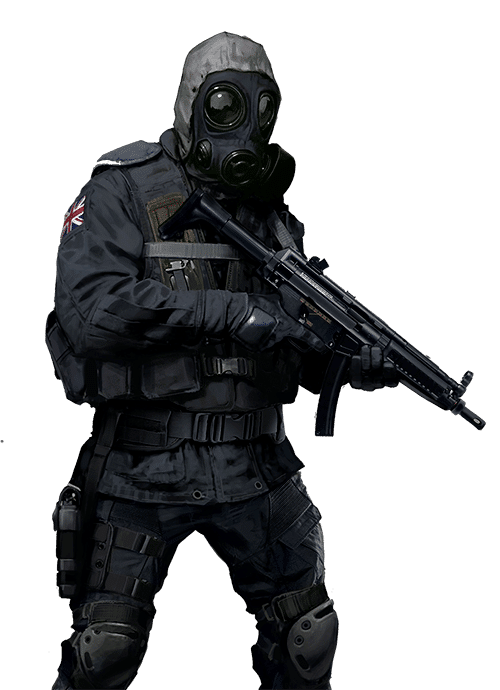CSGO guy with weapon